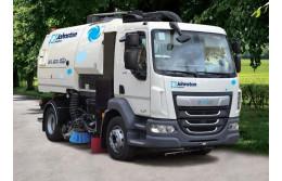 Johnston  Sweepers  VE651 ( eVie)  – новый  электромобиль для уборки улиц  и дорог.